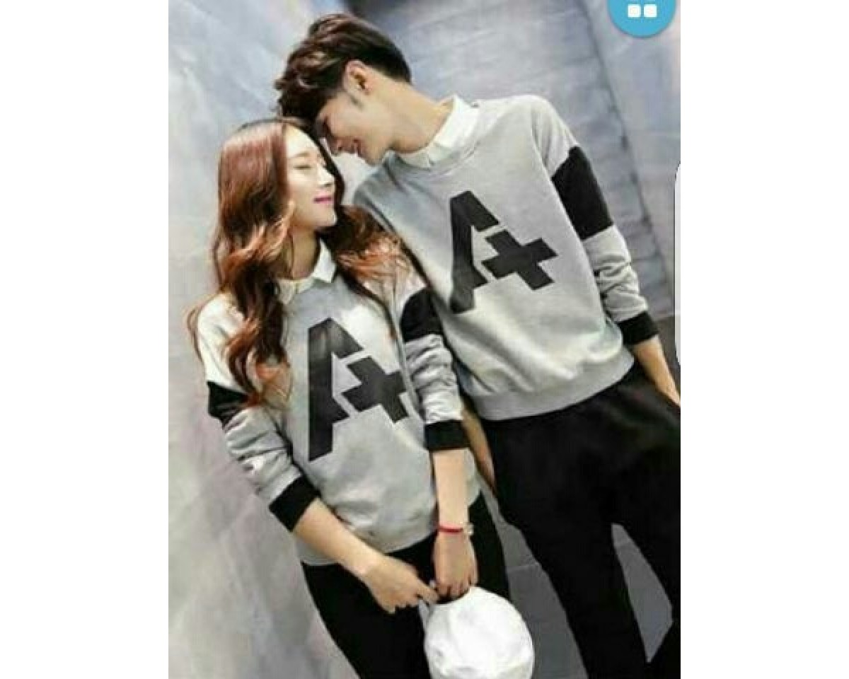 Baju Couple Cp A Vb Abu