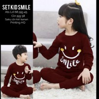 Baju Anak Kd St Honey Smile Ga Maroon