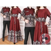 Baju Couple Cp Zarrats Brown