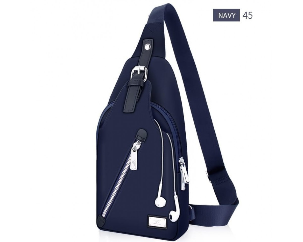Tas Murah Tas Man Johnny Bag Diago Navy