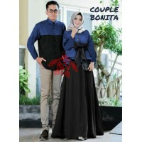 Baju Couple Cp Bonita Navy