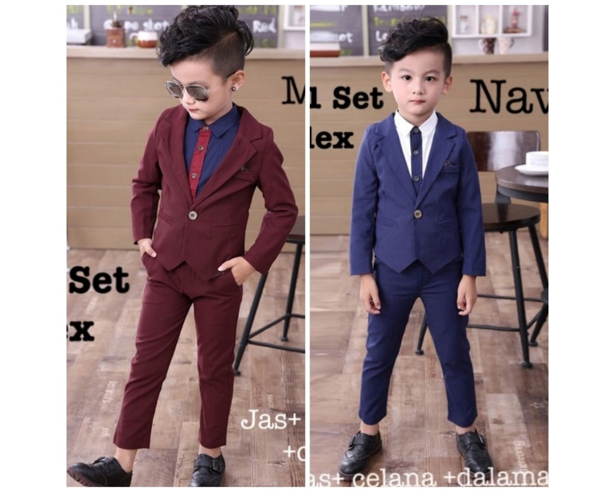 Baju Anak Kd St Alex Ks 3In1