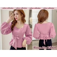 Baju Wanita Top Blouse Aira Vl Dusty