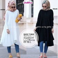 Baju Korea Tunik Basic Sf