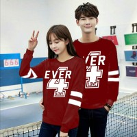 Baju Couple Cp 4Ever Vb Maroon