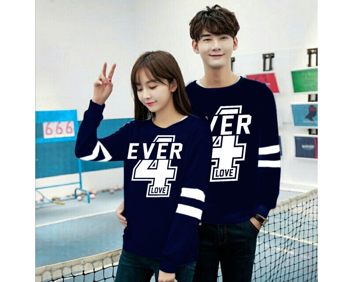 Baju Couple Cp 4Ever Vb Navy