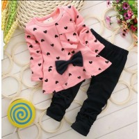 Baju Anak Kd St Love Kids Vd Peach