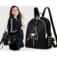 Tas Murah Tas Zanetta Bag Side Dot Hitam