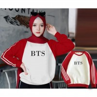 Baju Korea Sw Bts Kim Vb Red