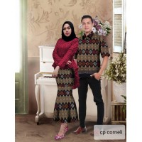 Baju Couple Cp Corneli Vs Maroon