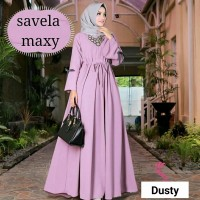 Baju Korea Hj Maxi Savella Dusty