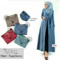 Baju Korea Outer Ajiko Sf Blue