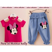 Baju Anak Kd New Holly Minnie Fanta