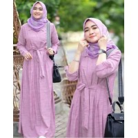 Baju Korea Hj Maxi Safa Dusty