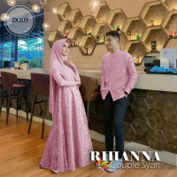 Baju Couple Cp Syari Rihanna Jc Dusty