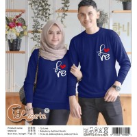 Baju Couple Cp Xolilove X Navy