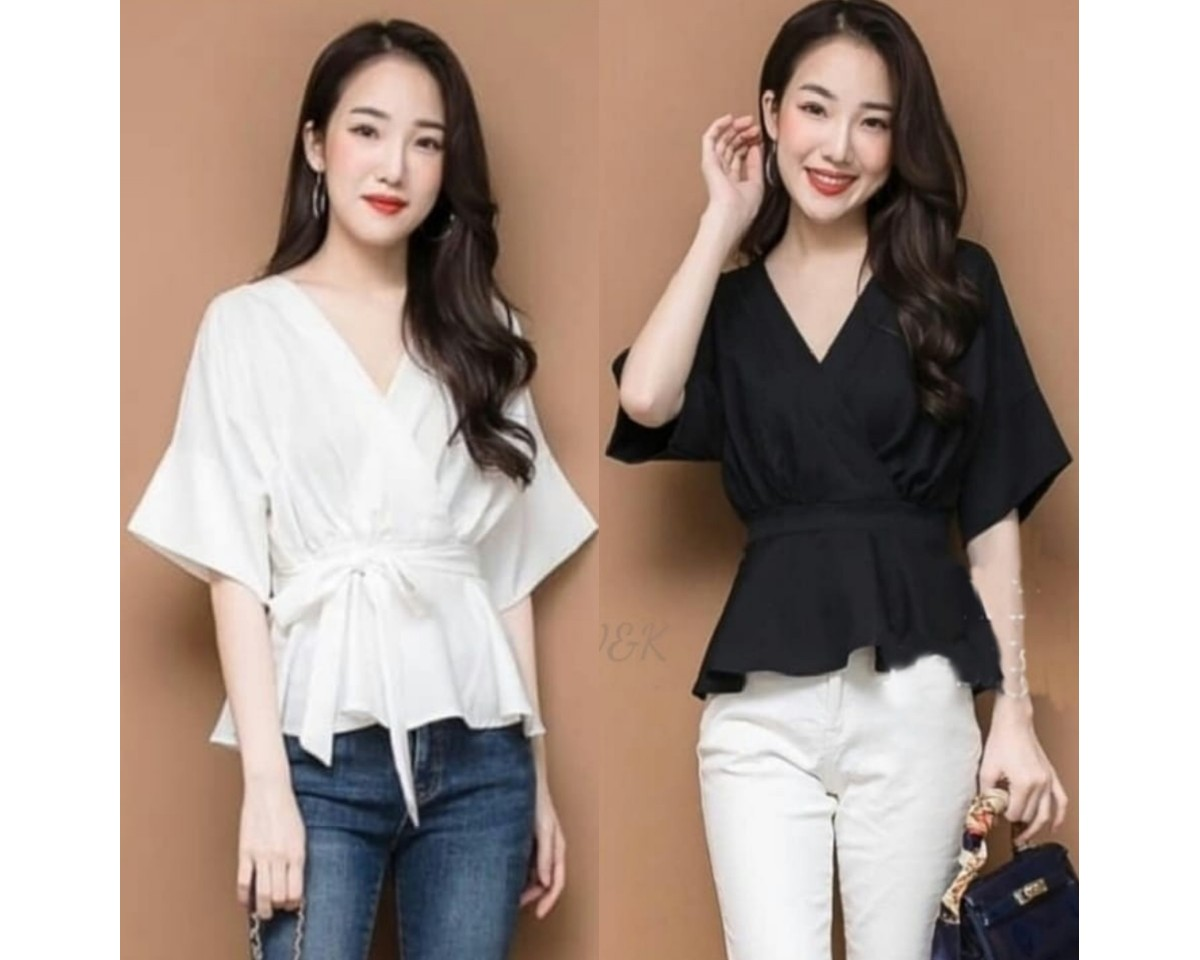 Baju Korea Top Kimkim Vd